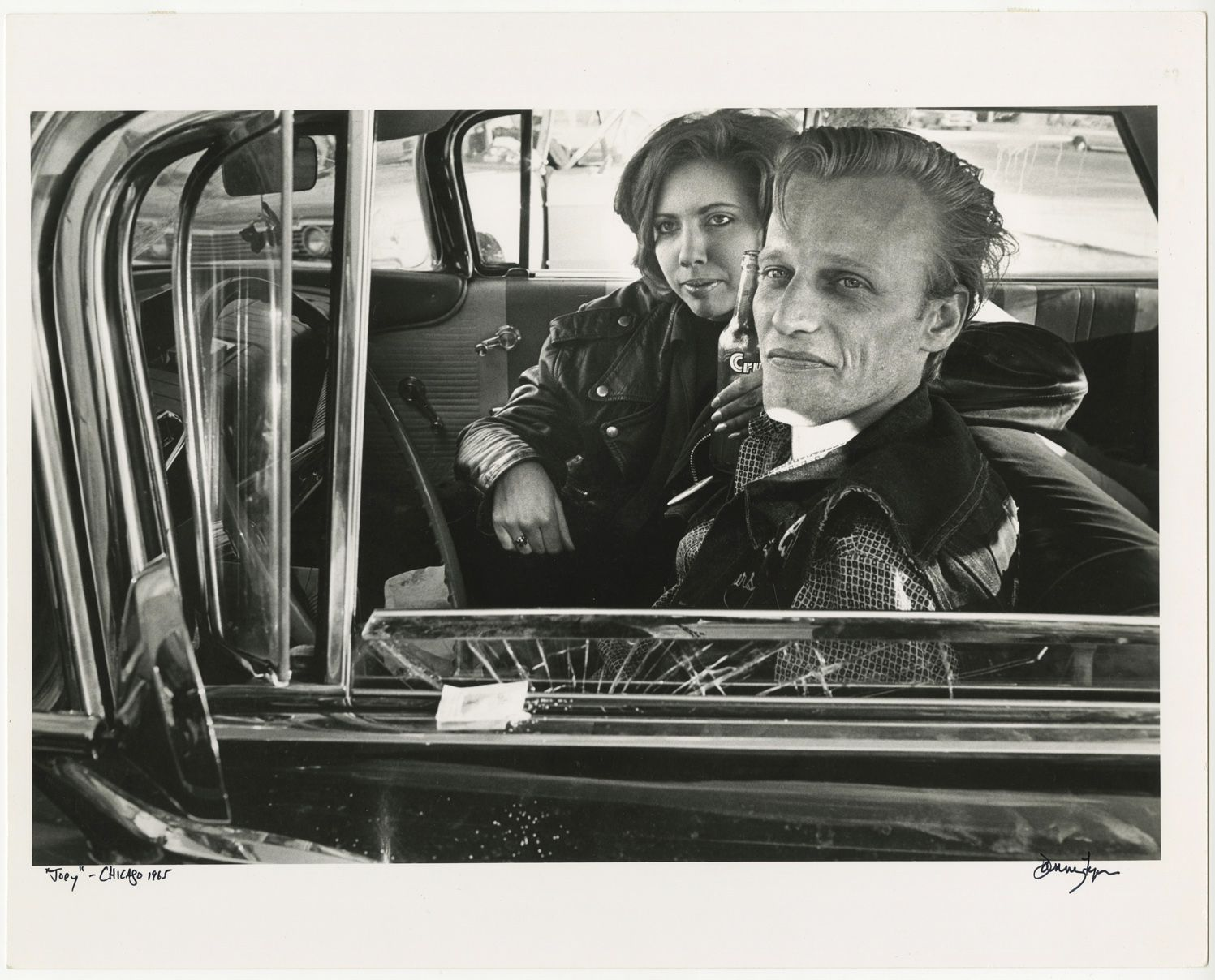 Copyright Danny Lyon / Magnum Photos, Joey, Chicago, from The Bikeriders, 1965