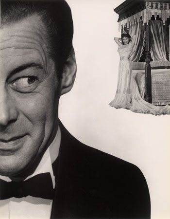 "Rex Harrison, ""The Four Posters,"" 1952, 13-5/16 x 10-3/8 Vintage Silver Gelatin Photograph"