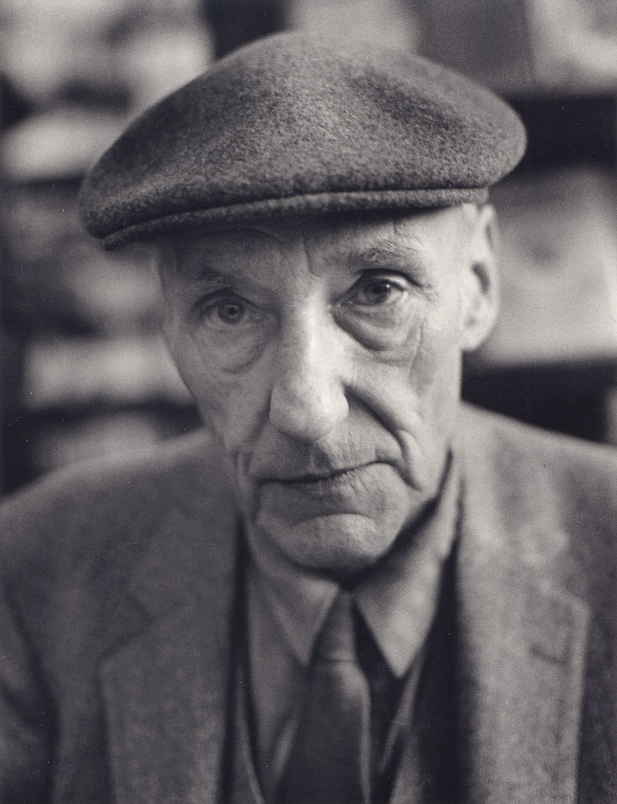 William S. Burroughs, San Francisco, 1980, 10 x 8 Silver Gelatin Photograph