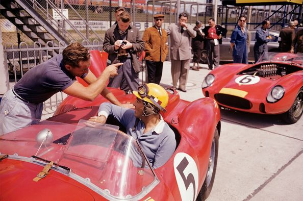 Phil Hill and Luigi Musso (Ferrari), 1000 Kilometers of the Nurburgring, 1958