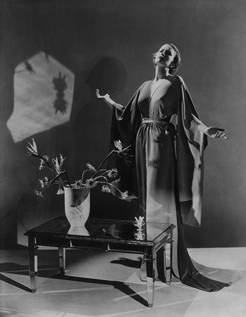 Decorative Fashion for Haper's Bazaar, c. late 1930s, 20 x 16 Platinum Palladium on 24 x 20 Paper, Ed. 27