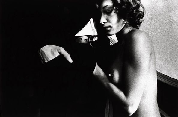 Untitled (Woman Feeling Man), 1974, 11 x 14 Silver Gelatin Photograph, Ed. 25