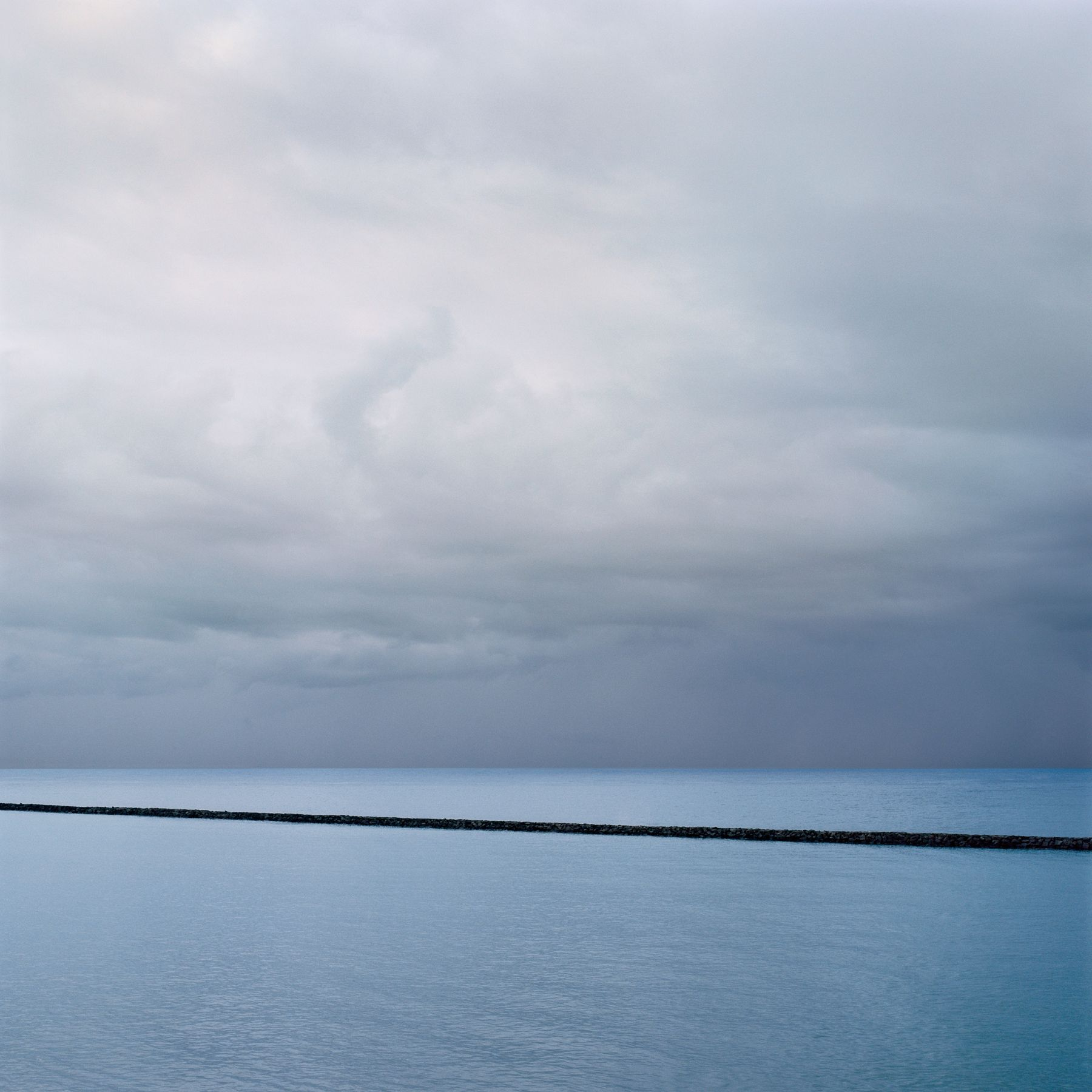 Pacific Sea Wall, Archival Pigment Print