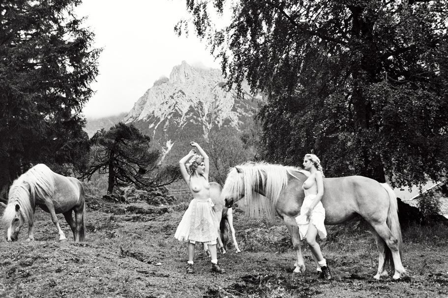 Land of The Free, Bavaria, 2015, B&W-print on Baryta photo paper