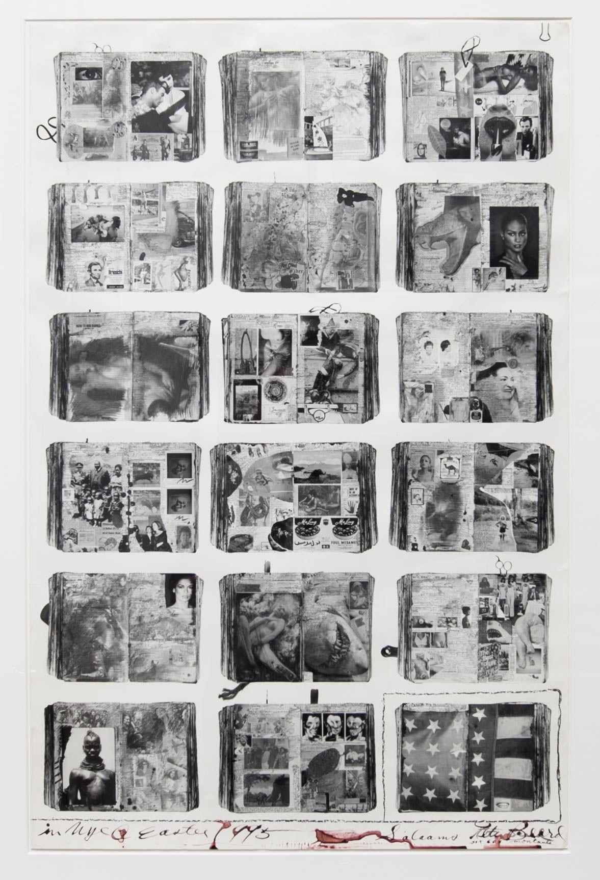 Peter Beard Bicentennial Diaries (A), 1996
