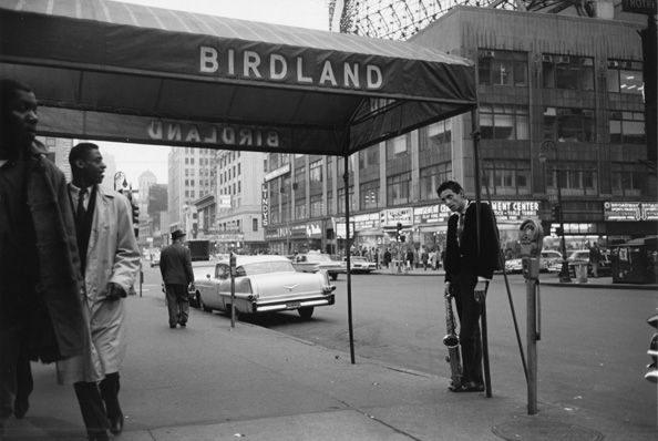 Birdland, 4:00 AM, New York City, 1960, 11 X 14 Silver Gelatin Photograph, Edition of 25