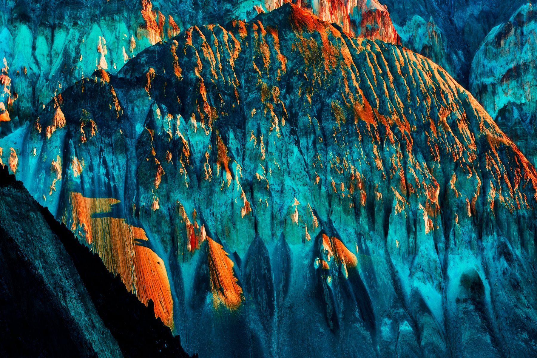 An Iridescent, a Bizarre and Subterranean Light, California, 2017