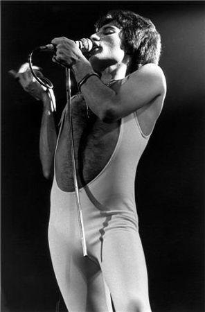 Freddy Mercury, New York, NY, 1977, 11 x 14 Silver Gelatin Photograph