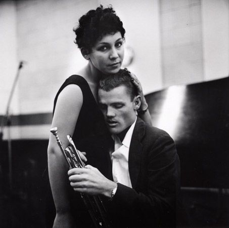 Chet Baker and Lili, Hollywood, 1954, 16 X 20 Silver Gelatin Photograph, Edition of 25