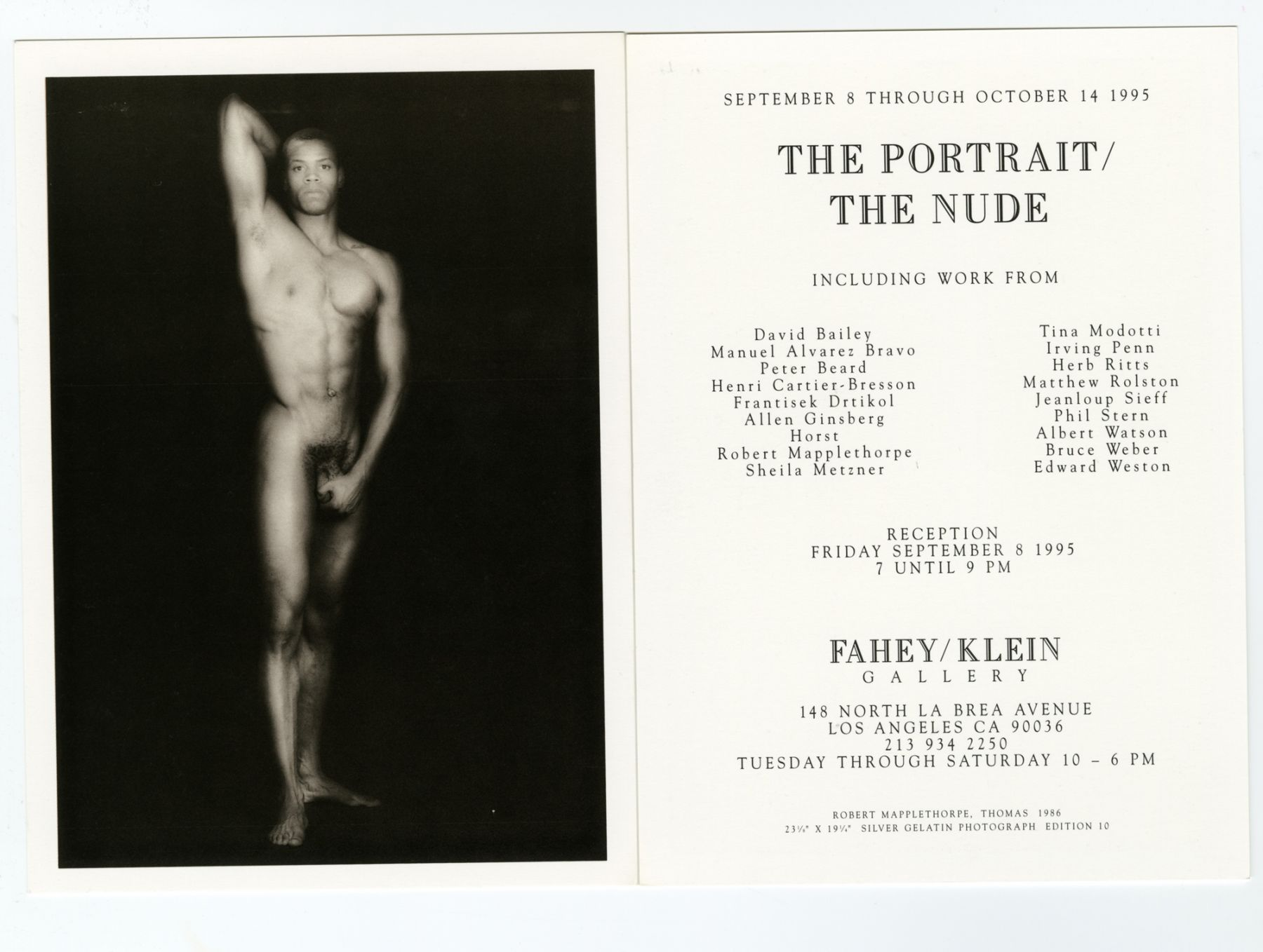 The Portrait | The Nude
