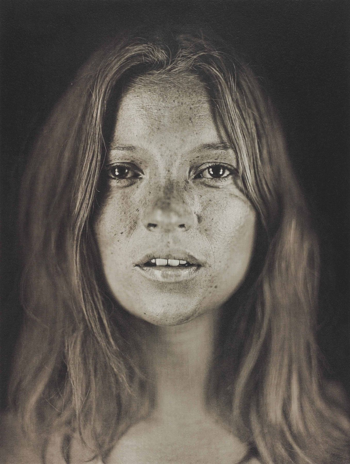 Chuck Close Untitled, Kate #18, (straight on portrait), 2005