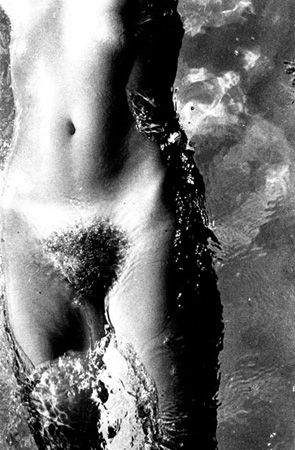Untitled (Nude in Water), 1978, 14 x 11 Silver Gelatin Photograph, Ed. 25