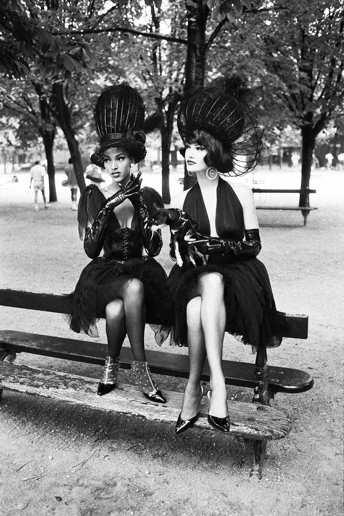 Haute Couture, Paris, 1991, 20 x 16 Silver Gelatin Photograph, Ed. 15