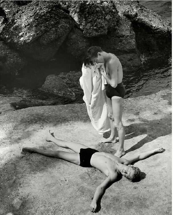 After the Bath, Italy, 1936, Silver Gelatin Photograph