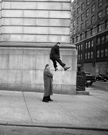 Untitled (man leapfrogging), 1999, Ed. 20