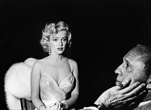 Marilyn Monroe and Jack Benny, Children's Benefit, Shrine Auditorium, 1953