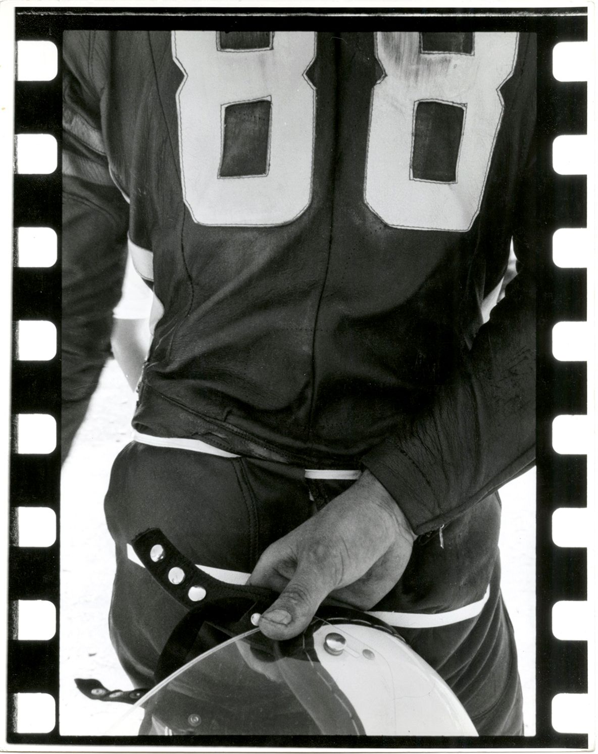 Copyright Danny Lyon / Magnum Photos, Torello Tachhi's Back, Louden, NH, from The Bikeriders, 1965