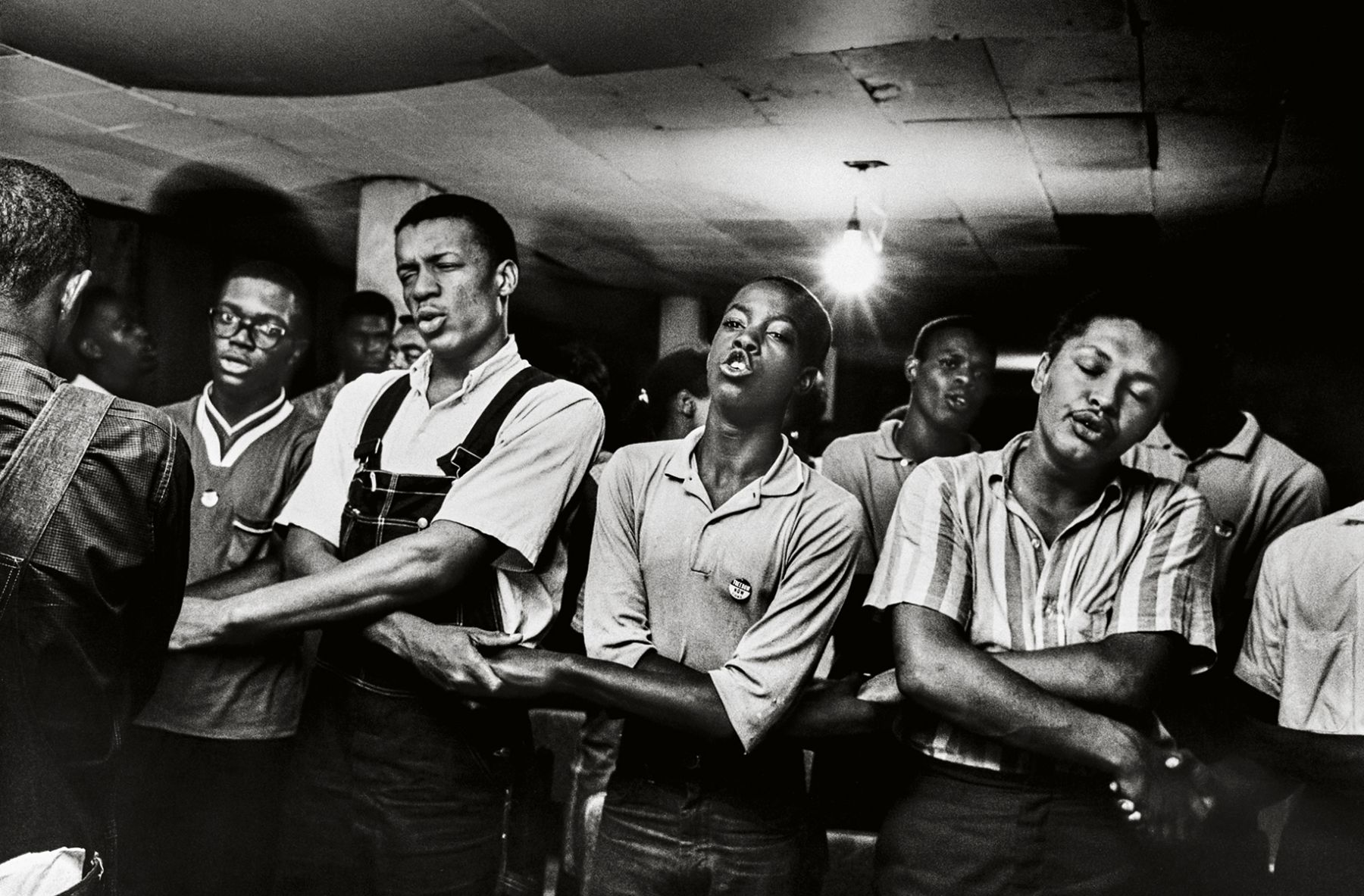 """""""We Shall Overcome,"""" Clarksdale, Mississippi, 1965, 16 x 20 Inches, Silver Gelatin Photograph, Edition of 25"""