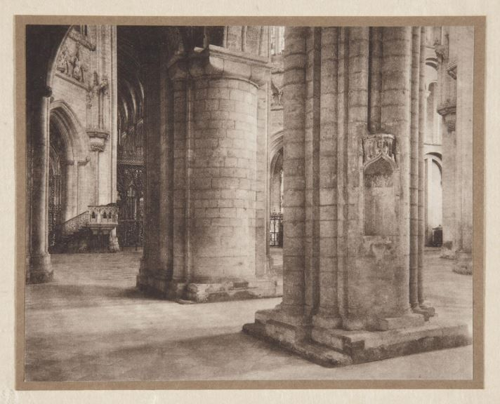 Frederick Evans, Ely Cathedral Across the Nave and Octagon, 1897