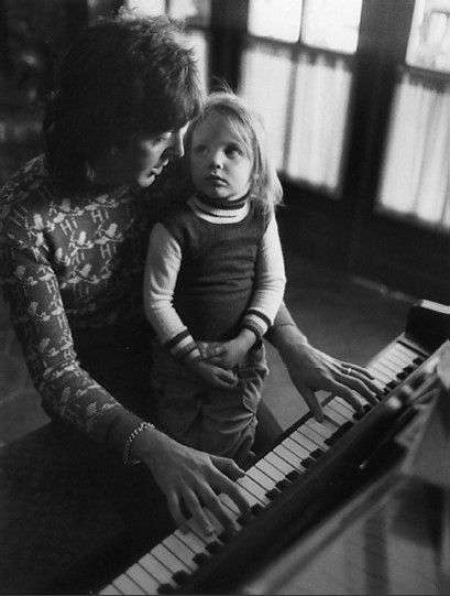 Paul and Stella McCartney, Los Angeles, 1974