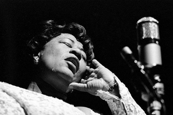 Ella Fitzgerald, 1960, 11 x 14 Silver Gelatin Photograph