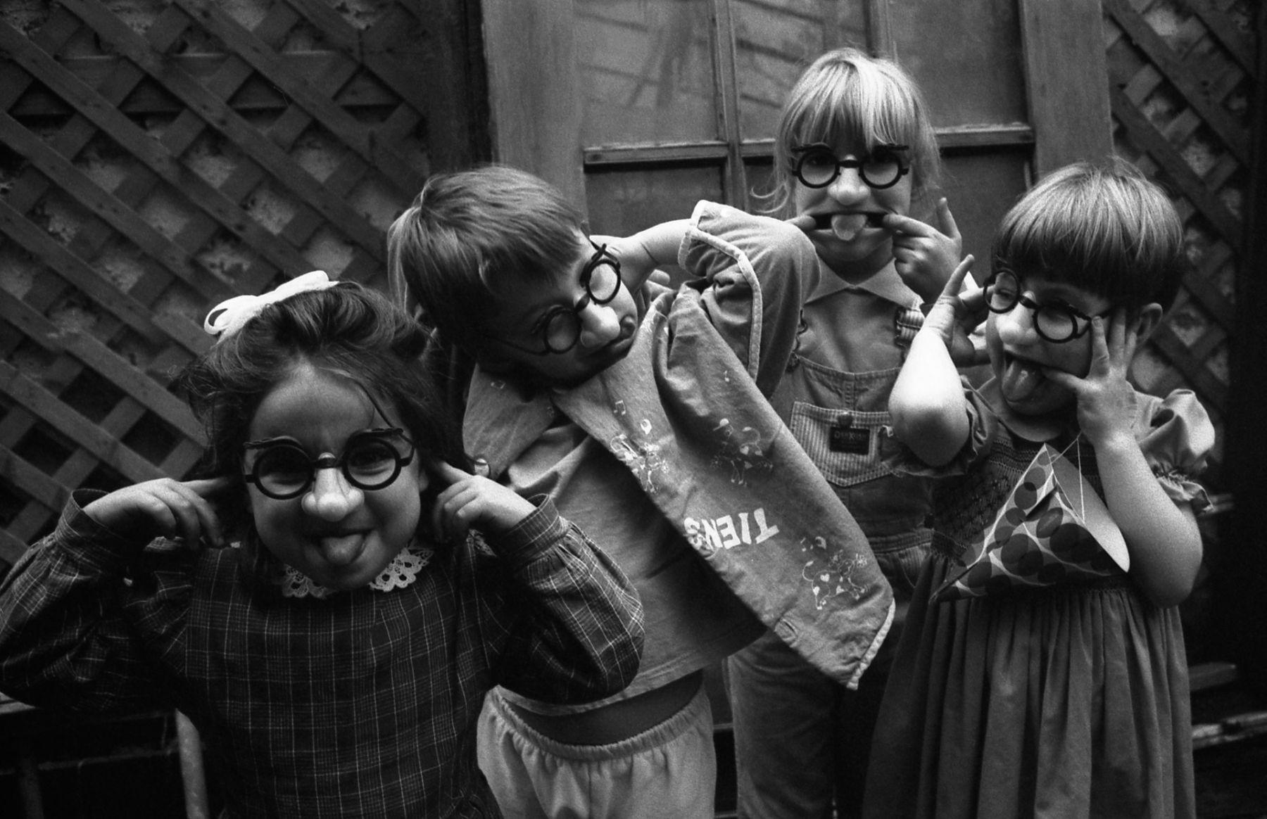 Birthday, Montreal, 1995, Silver Gelatin Photograph