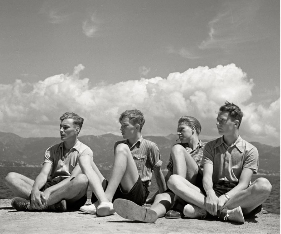 Summer Day at the Lake, German, 1935, Silver Gelatin Photograph
