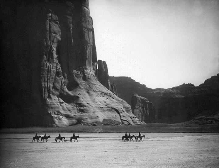 Edward S. Curtis, Canyon de Chelly, 1904