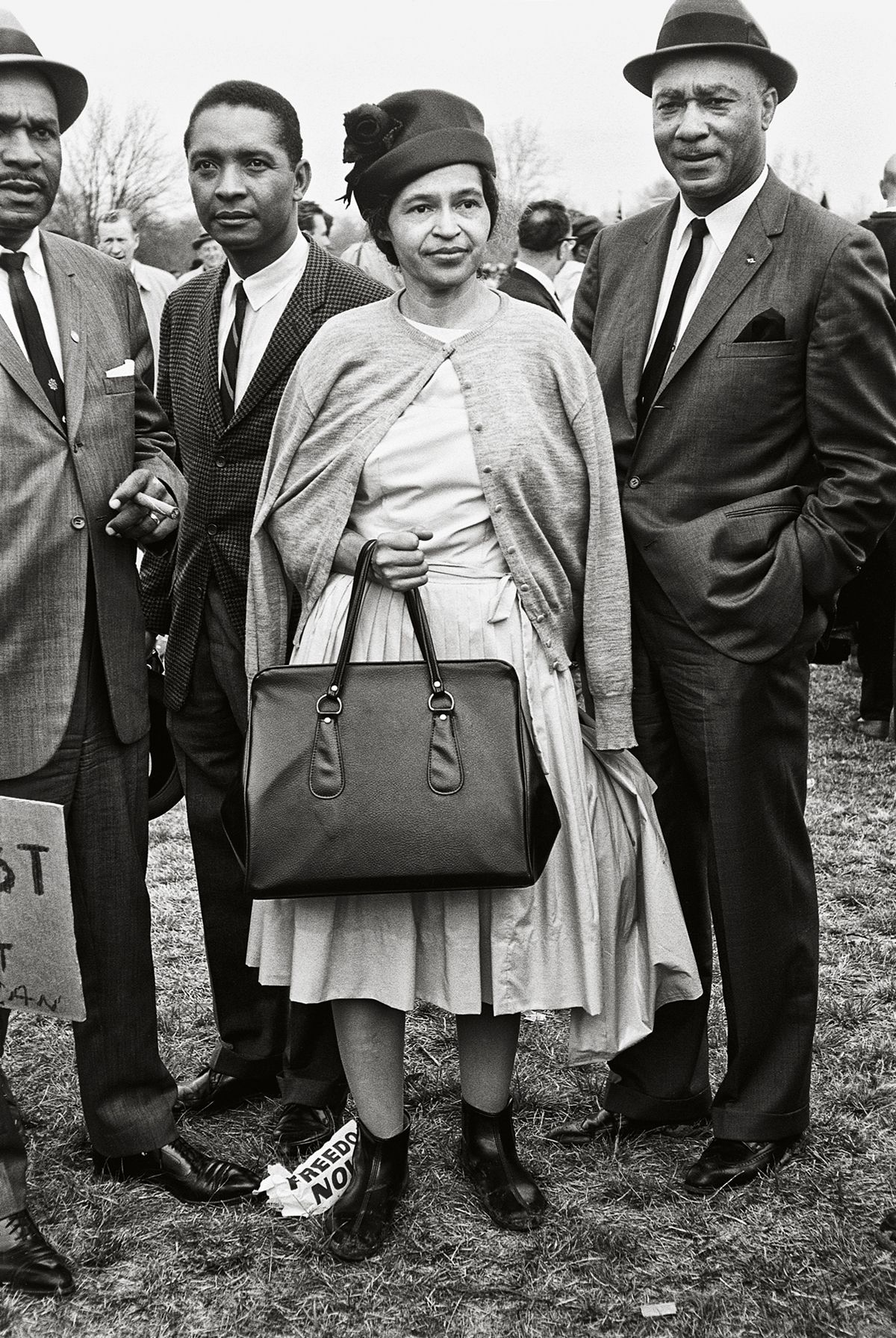 Rosa Parks, Selma March, 1965, 20x 16Inches, Silver Gelatin Photograph, Edition of 25