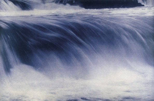 Rushing Water, 1994, 24-1/2 x 35-3/4 Fresson Print
