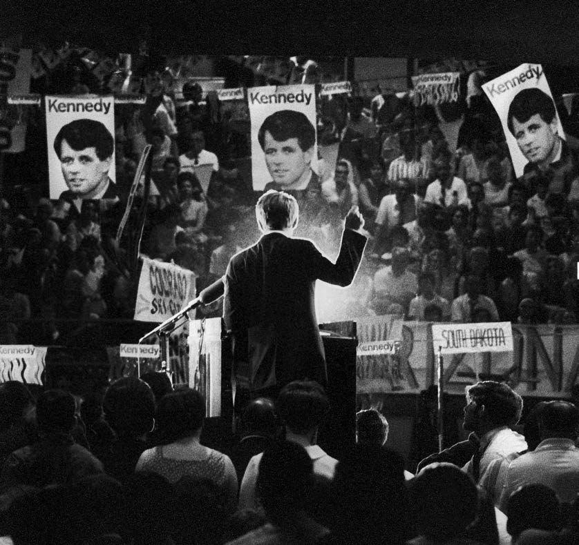 Robert F. Kennedy Campaign, Time Magazine, June, 1968, Silver Gelatin Photograph