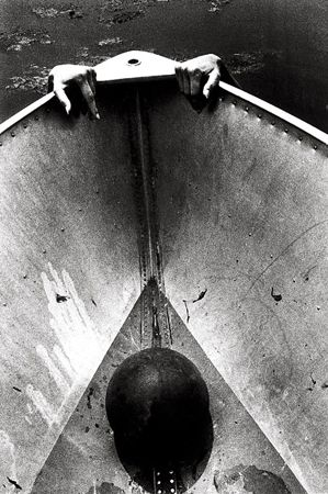 Untitled (Hands on Boat), 1969, 14 x 11 Silver Gelatin Photograph, Ed. 25