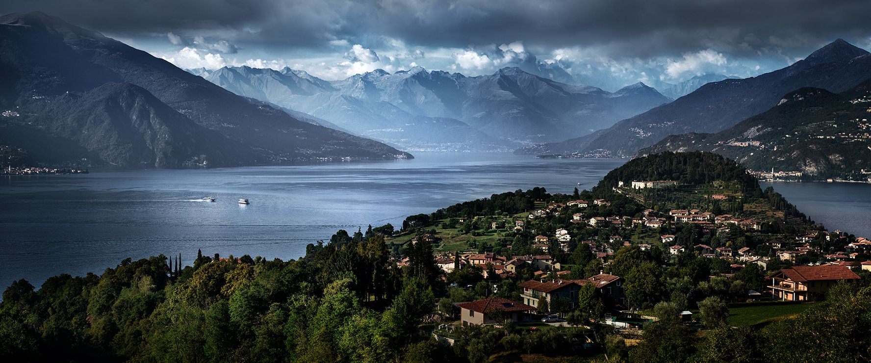 ESCAPE TO LAKE COMO, Archival Pigment Print