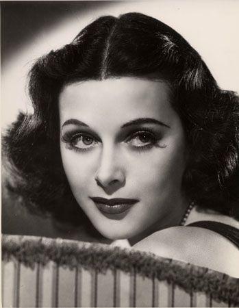 Hedy Lamarr, c. 1950s, 12-11/16 x 9-7/8 Vintage Silver Gelatin Photograph