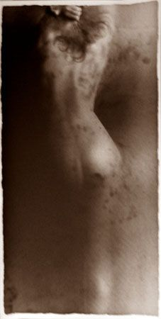 Osmosis, Untitled #0305654, 40 x 20 Silver Gelatin Photograph, Copper, and Glass, Ed. 10