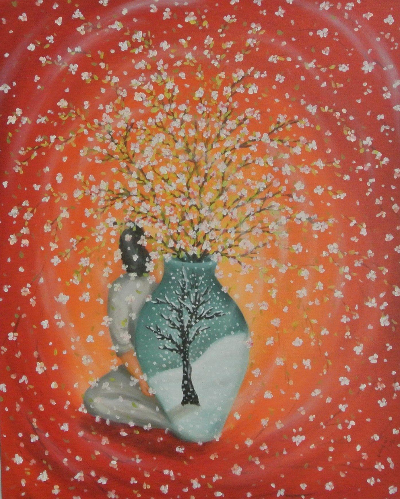 Winter Tree Blooming