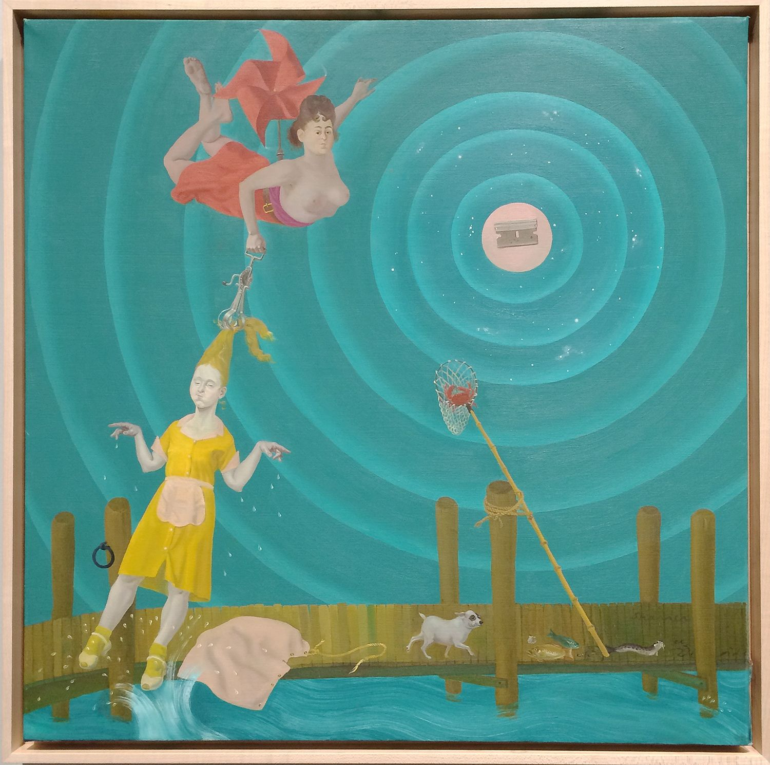 Honoré Sharrer (1920-2009), Resurrection of the Waitress, 1984