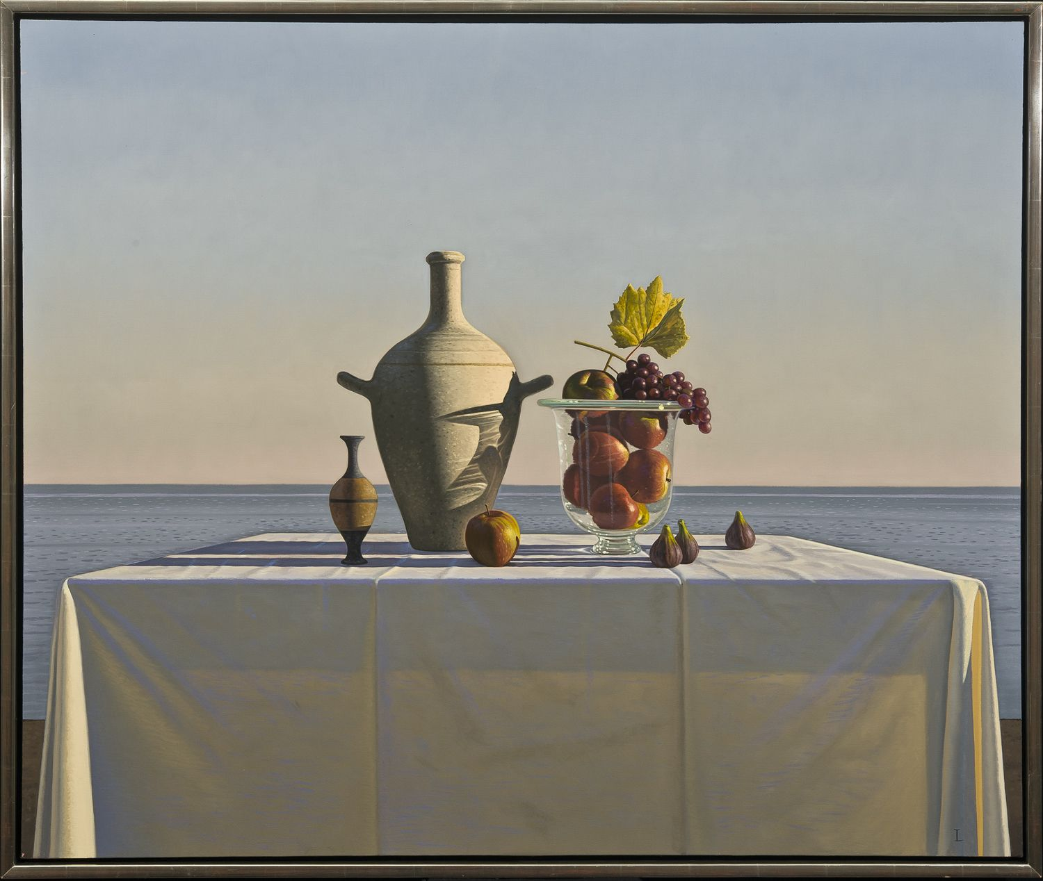 Still Life with Fruit, 2011, Oil on canvas, 40 x 48 in.