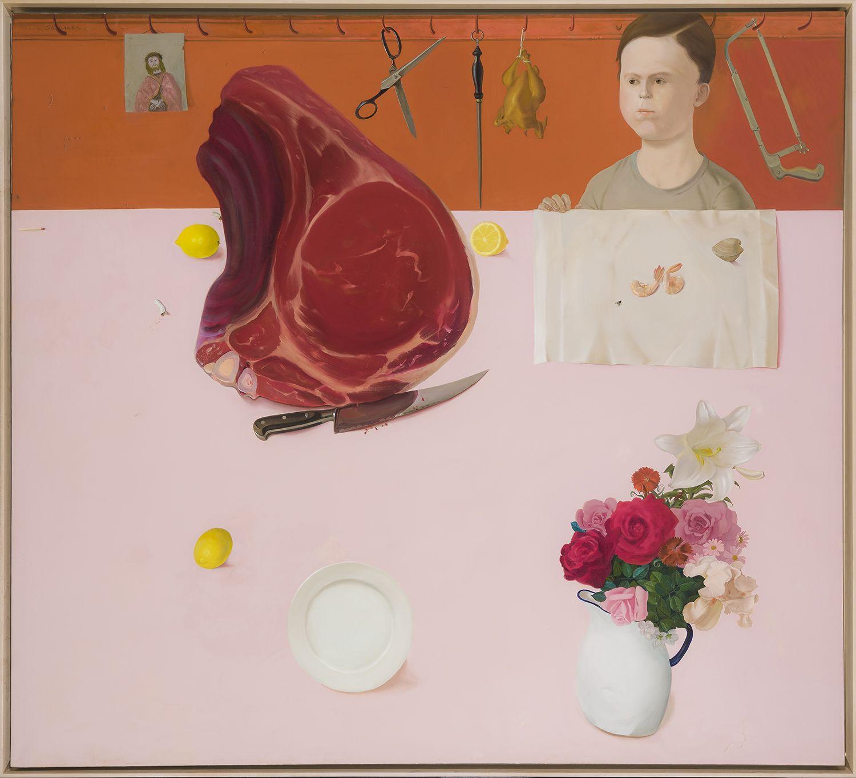 Honoré Sharrer (1920-2009), Meat, 1974