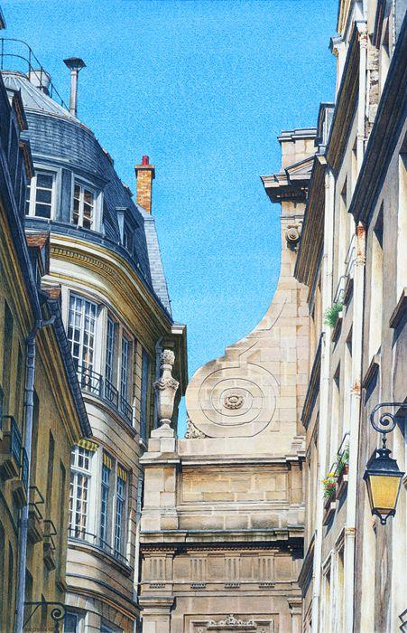 Frederick Brosen (b. 1954), Rue Aubriot, 2007