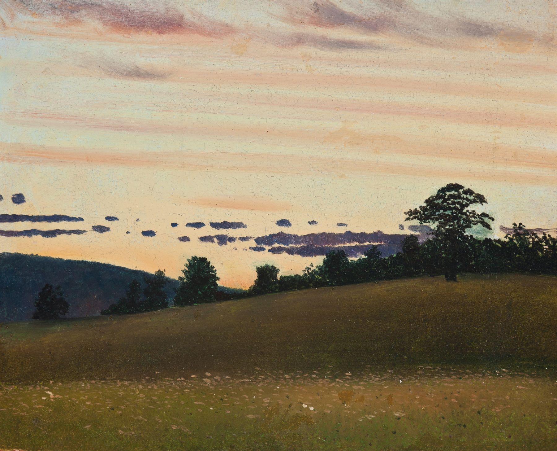 The Hill at Twilight, about 1902–11