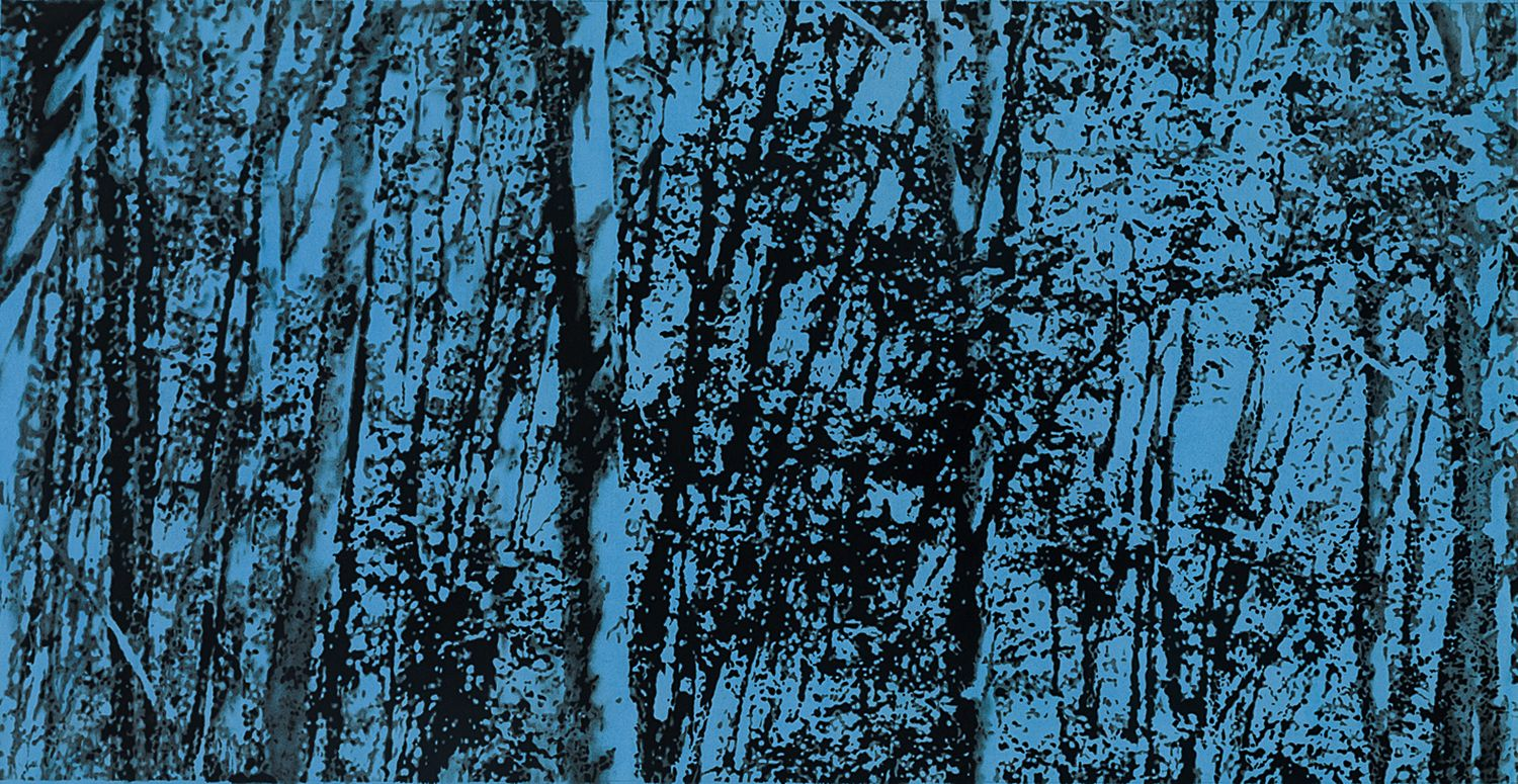 Andy Mister (b. 1979), Sparingly Descends the Birches, 2016