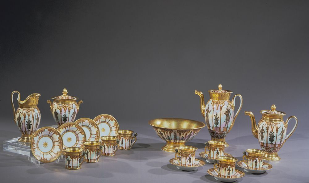 """""""Old Paris"""" Porcelain Tea/Coffee Service, about 1825–29"""