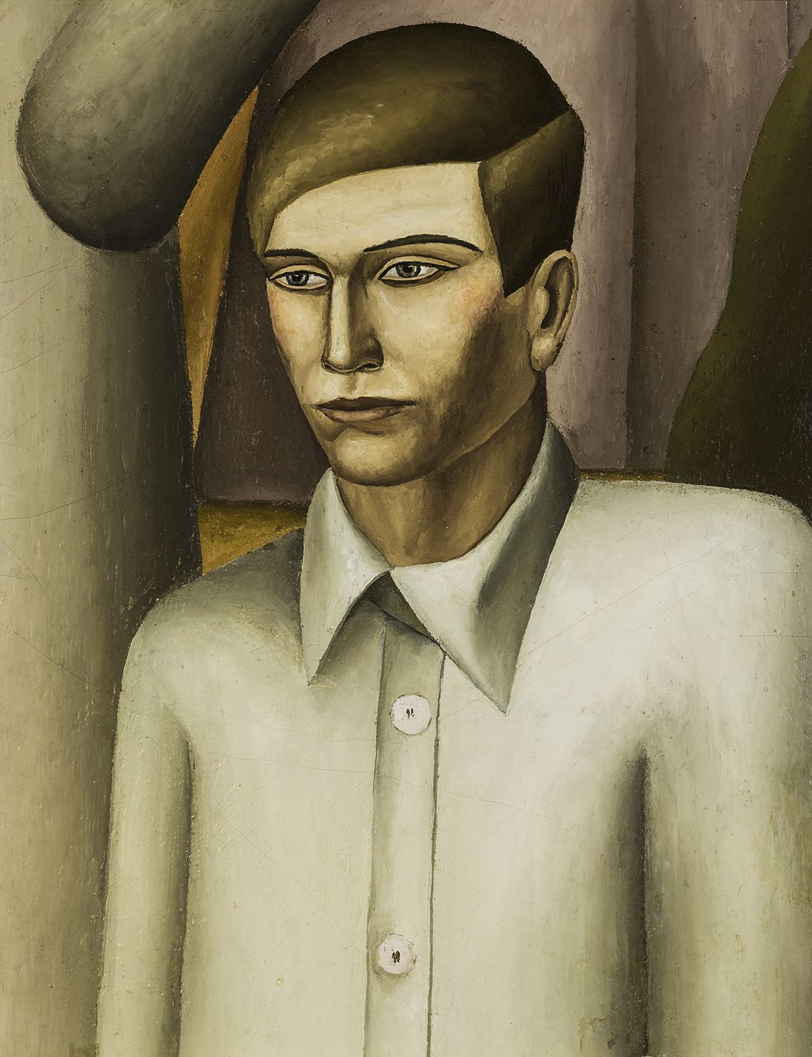 Self-Portrait, 1930, Oil on canvas, 11 1/2 x 9 in.