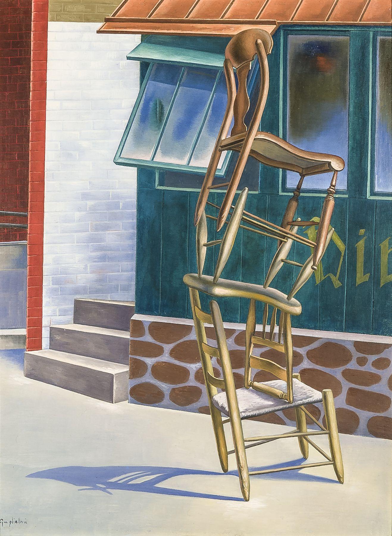 OSVALDO LOUIS GUGLIELMI (1906–1956), Tumblers, 1942