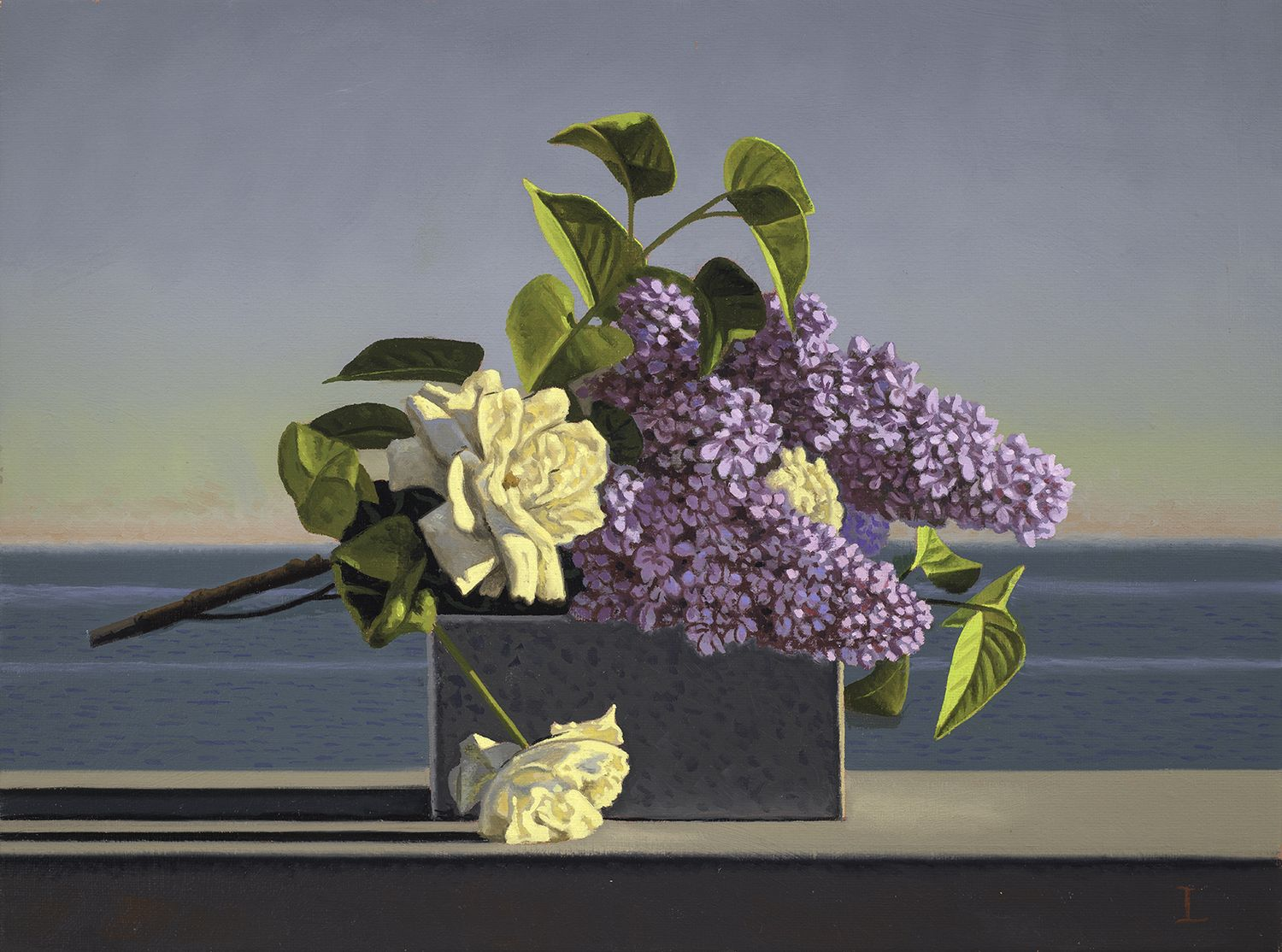 David Ligare (b. 1945), Still Life with Lilacs and Roses, 2018