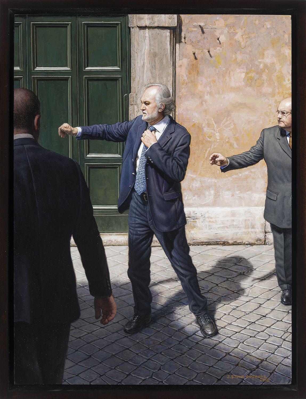 Stone Roberts (b. 1951), The Angry Man - via M. Caetani, Rome, 2018