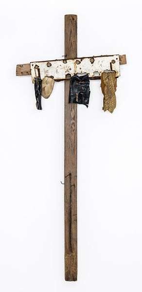 Hawkins Bolden (1914-2005), Scarecrow, about 1980