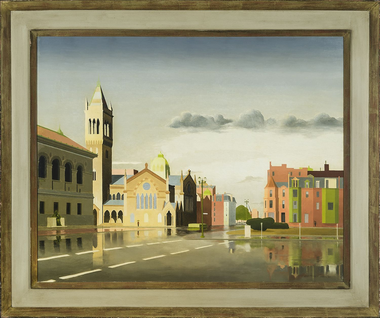 Thomas Fransioli (1906-1997), Copley Square, Boston, 1959-61