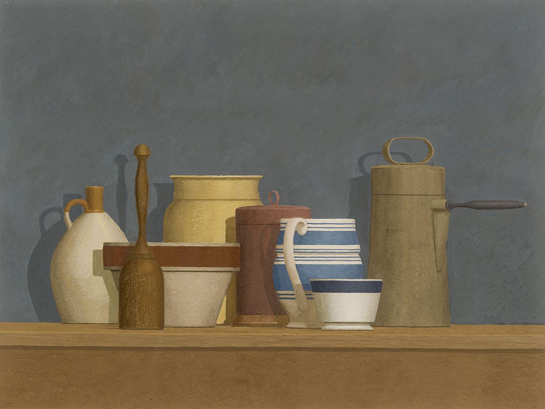William Bailey (b. 1930), Still Life - Niccone, 1982